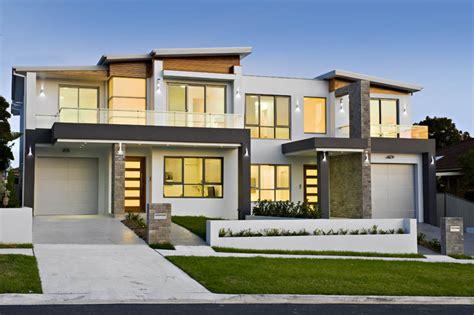 Modern Style Duplex Plans Just  House Plans #60844