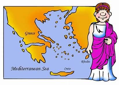 Greece Ancient Geography Greek Grade Mythology History