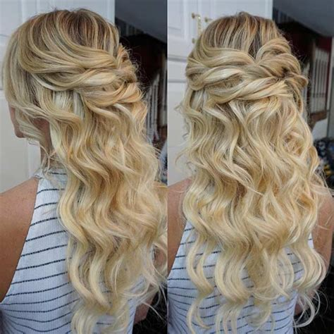 Prom Hairstyles Half Updos by 31 Half Up Half Prom Hairstyles Page 2 Of 3 Stayglam