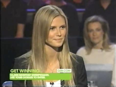 Heidi Klum Who Wants Millionaire Wiki Fandom