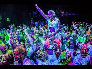 AMPERSAND NEON GLOW PAINT PARTY BackStage Live Sat July