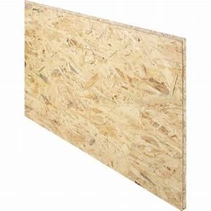 Dalle De Plancher Aggloméré : dalle de plancher osb 3 3 plis pic a naturel mm x ~ Dailycaller-alerts.com Idées de Décoration
