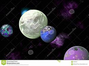 Alien Solar System Stock Images - Image: 5049244