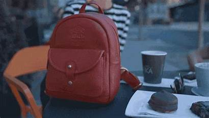 Backpack Leather Zip Pack Kickstarter Oak Duffle