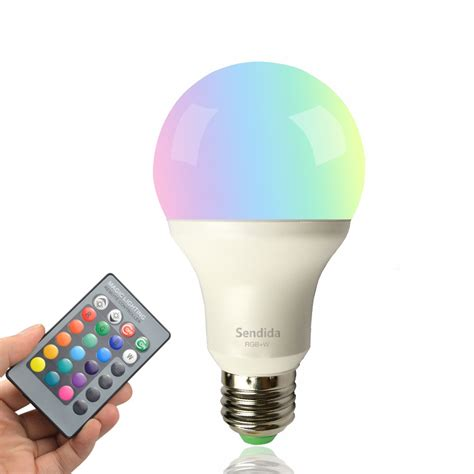 led rgb bulb color changing