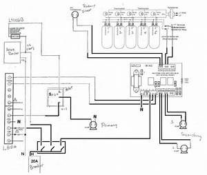 Wiring For Primary  Secondary Loops With L8151a Relay