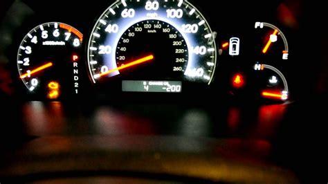 honda odyssey vsa  check engine light  vibrations