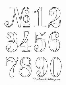 25 best ideas about number stencils on pinterest number With letter and number stencils