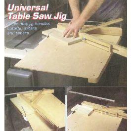 universal table  jig downloadable plan