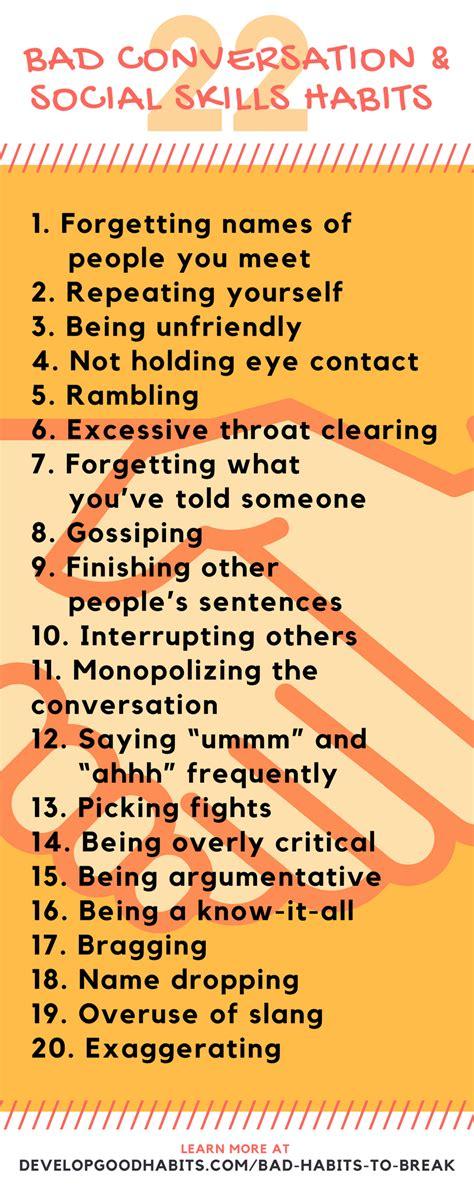 bad habits  ultimate list  bad habits social