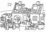 Coloring Farm Lego Duplo Printable Pages Farms Farmer 2079 72kb 4kids Enregistree Depuis Freecoloringpages Drawings sketch template