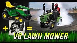John Deere V8 Lawn Mower