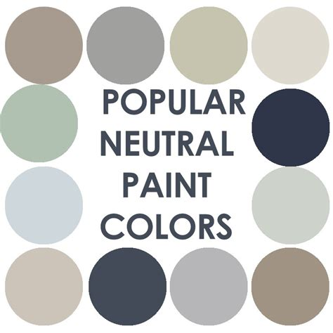 popular neutral paint colors that are far from boring