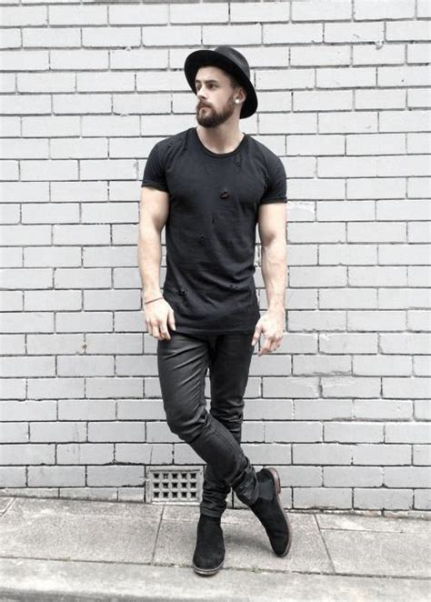 40 All Black Outfits For Men - Bold Fashionable Looks