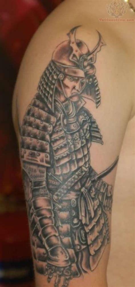 samurai  sleeve tattoos