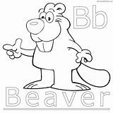 Beaver Coloring Pages Print Dam Printable Getcolorings sketch template