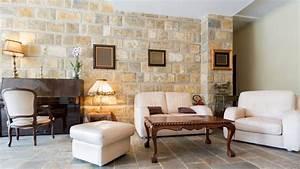 Wandgestaltung Wohnzimmer Erdtöne : wandgestaltung ein traum in steinoptik youtube ~ Markanthonyermac.com Haus und Dekorationen