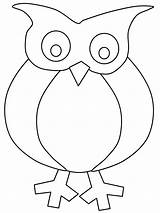 Owl Pages Coloring Cartoon Cliparts Owls Colouring Sheets Printable Winter Activity sketch template