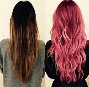 Ombré Hair Rouge : ombr hair marron roux ~ Melissatoandfro.com Idées de Décoration