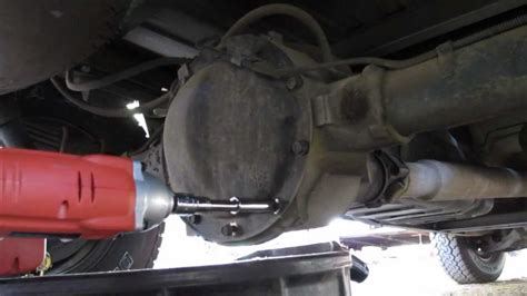 change  differential oil youtube