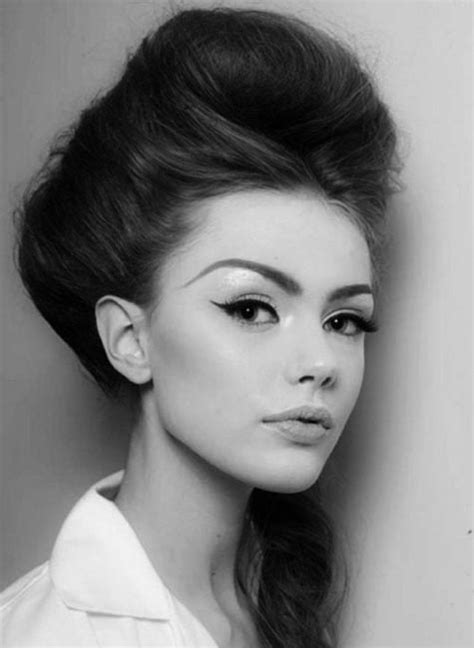 60s Hairstyles Beehive by 1960s Hairstyles For Bouffant Beehive Look
