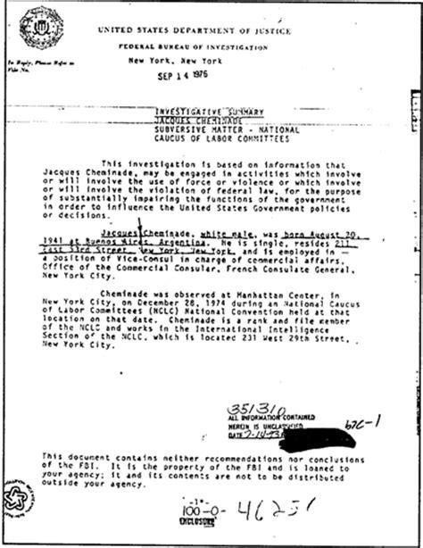 bureau du fbi le poe jacques cheminade et la réalité du combat
