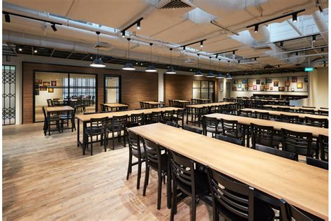staff canteen interior design renovation projects