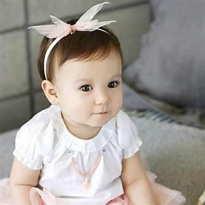 Photo De Bébé Fille : le bandeau b b fille 110 id es pour les petites princesses ~ Melissatoandfro.com Idées de Décoration