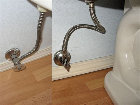 warning  corrugated toilet shutoff valve terry love