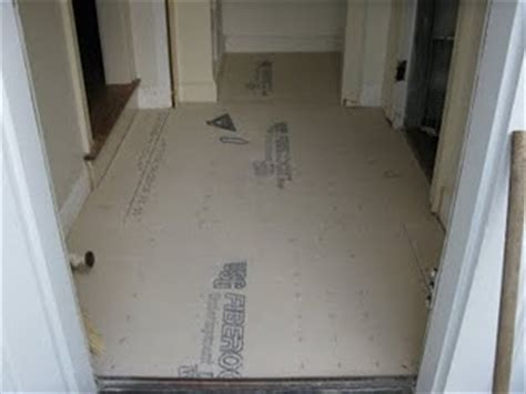 Preparing Underlayment For Vinyl Tile by Mudroom Makeover A Concord Carpenter