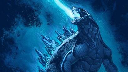 Godzilla Monsters King Artwork Wallpapers 4k Movies