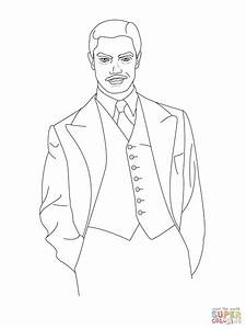 Howard Stark Coloring Page Free Printable Coloring Pages