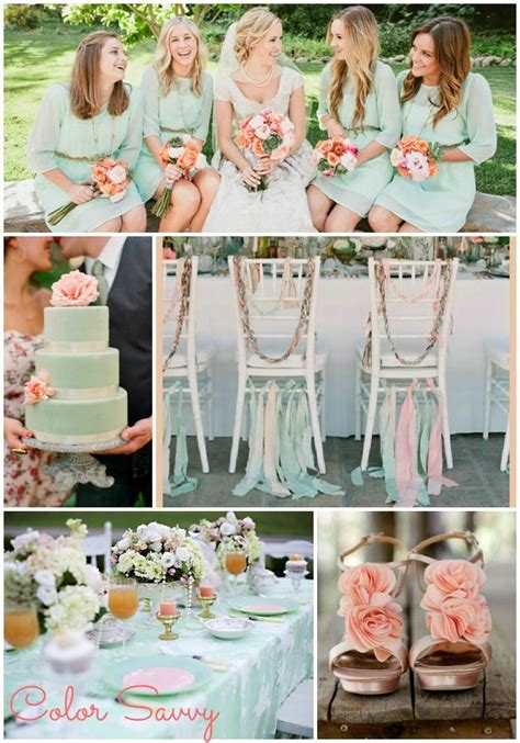 your wedding in colors mint green and baby pink arabia weddings