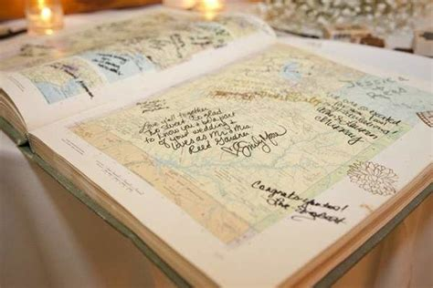 creative fun wedding guest book ideas mywedding