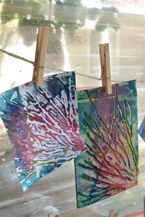 Printmaking For Preschoolers  Meri Cherry