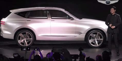 New York Auto Show News Genesis Enters Suv Territory With