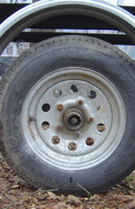 Boat Trailer Tires Pressure by Boat Trailer Tires And Wheels Maintenance Parts And Tire