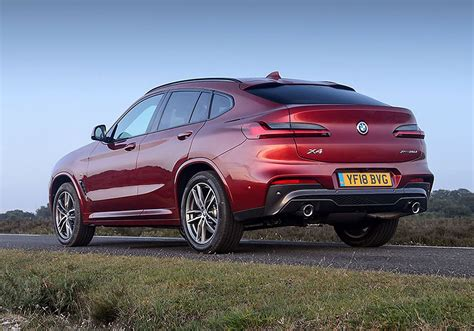 bmw x4 suv 2018 photos parkers