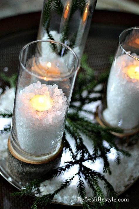 diy glass  wood candleholders