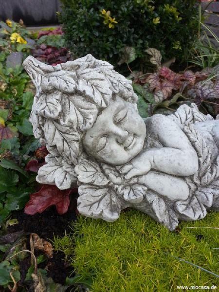 Englischer Garten Fee by Bl 228 Tterkind 5 Aus Massivem Steinguss Frostfest