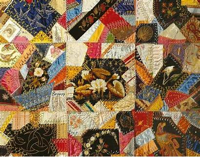 Crazy Quilt Quilts Silk Types Victorian Trading