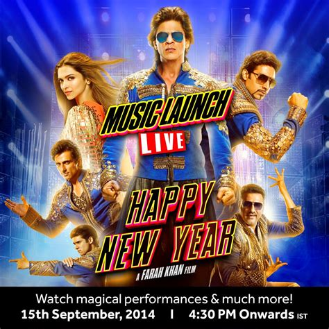 Shahrukh Khan's Happy New Year Watch Hny Music Launch