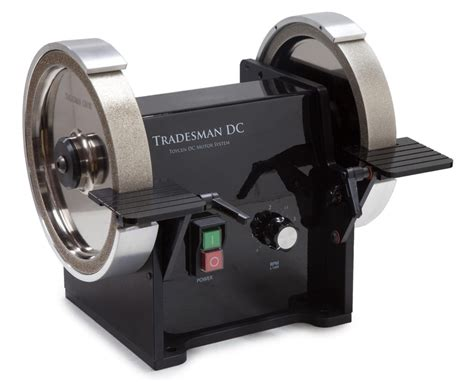 bench grinder reviews tradesman 8 quot dc variable speed grinder woodturners