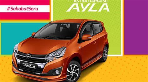 Harga Daihatsu Ayla 2019 Makassar