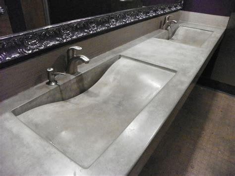 Integral Concrete Sinks