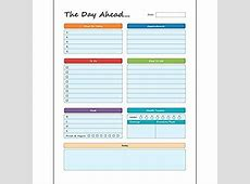 Amazoncom Daily Planner To Do Pad 85