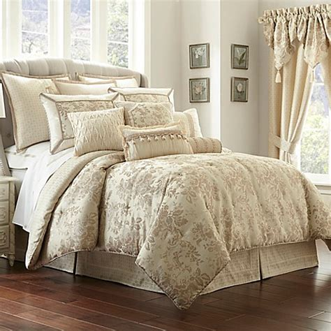 buy waterford linens castlequin california king comforter