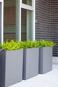 Modern, Elite, Rectangle, Planter