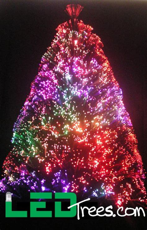 going green with led fiber optic trees www fashion