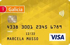 tarjetas de credito prefer gold  platinum banco galicia